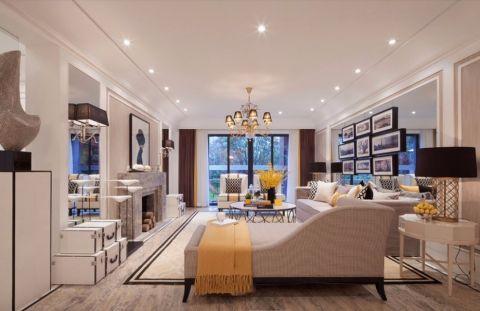 优雅欧式三居家庭装修风格图