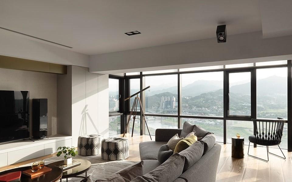 3室2卫2厅160平米简约风格