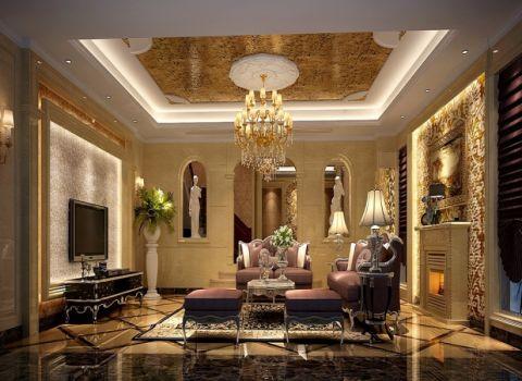 蓝水园欧式典雅别墅设计图片