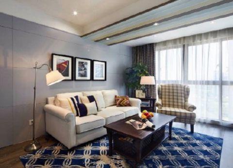 天朗曲院庭香两居室现代简约风格效果图