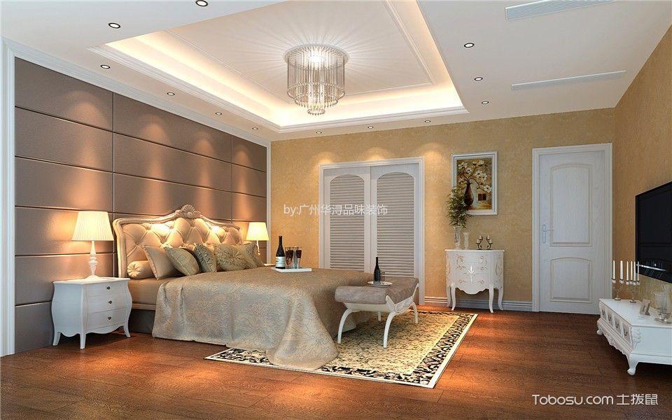 福贵苑四室两厅古典欧式风格装修效果图图片