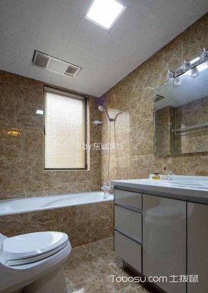卫生间白色吊顶中式风格装饰设计图片