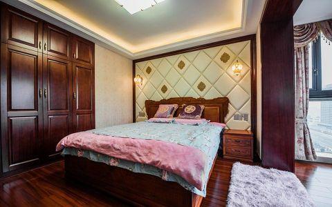 香溢紫郡二居室中式风格效果图
