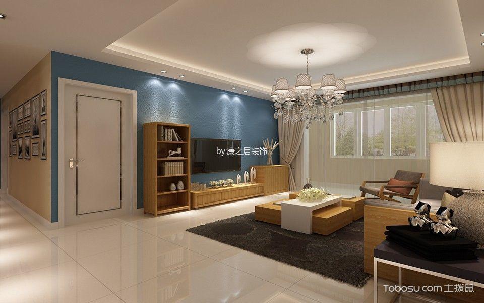 天津康之居装饰两居室装修案例