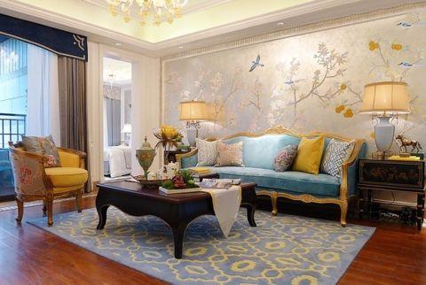 浪漫新古典主义三居室家装图片
