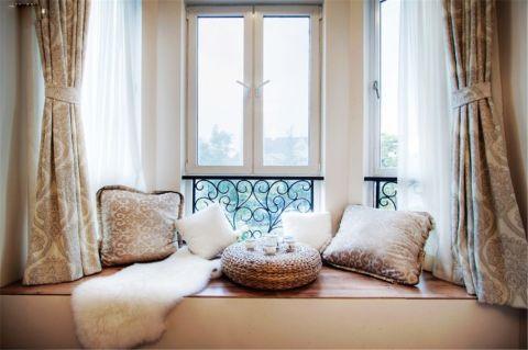 阳台飘窗现代简约风格装饰图片
