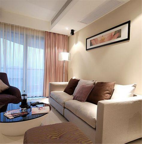 客厅飘窗简约风格装修设计图片