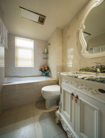 卫生间简欧风格装饰图片