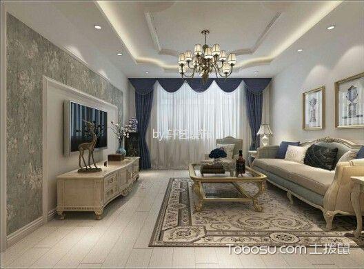 万龙丽水湾简欧两室一厅效果图