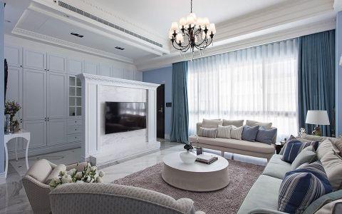 淡藍色水晶的別墅設計