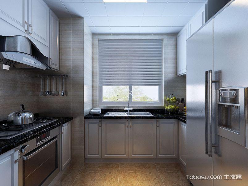 【世茂五里河】三室两厅简欧风格效果图