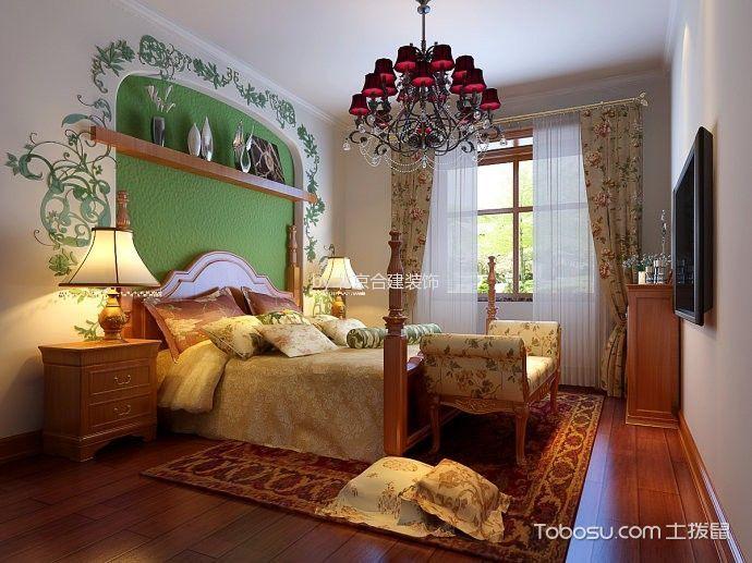 地中海风格80平米两室两厅新房装修效果图