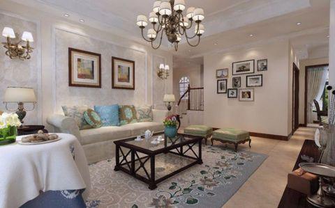 欧式风格二居室家装案例图片