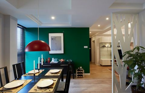 2019现代简约90平米效果图 2019现代简约二居室装修设计