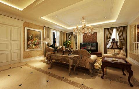 津南天山城欧式风格设计装修图片