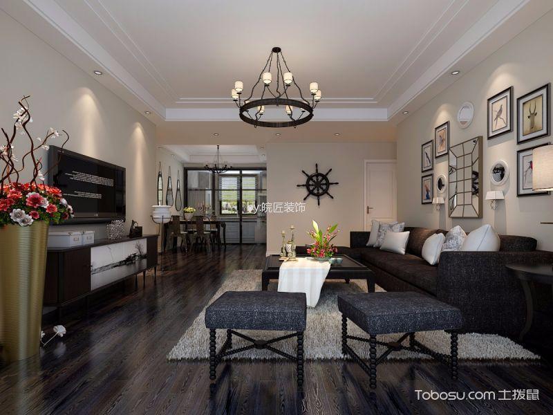 2021经典120平米装修效果图片 2021经典三居室装修设计图片