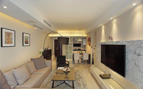 80平米两居室简约风格