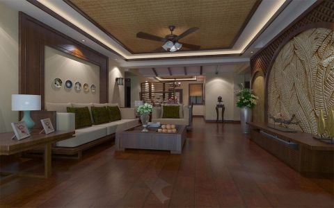 德润朗悦湾东南亚风情96平米三房二厅一卫优乐娱乐官网欢迎您