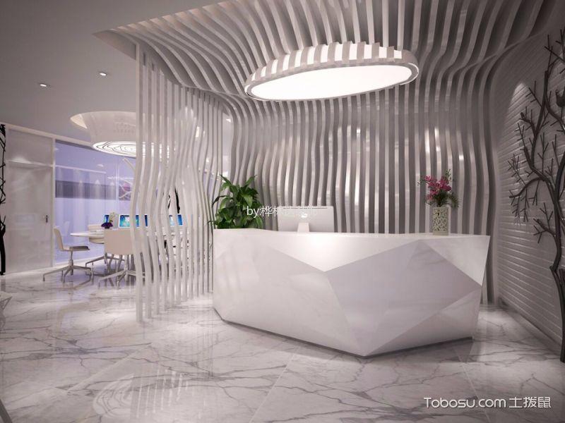 珠江广场现代简约风格办公室工装装修设计案例