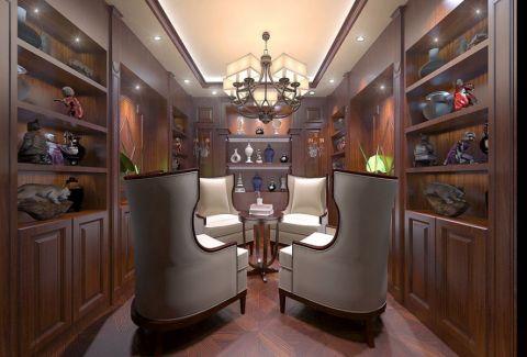 芜湖口子窖办公室中式风格工装装修设计案例
