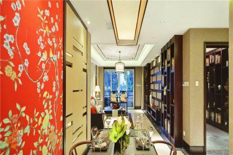 客厅简中风格装饰效果图