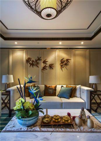 客厅背景墙简单风格装修效果图