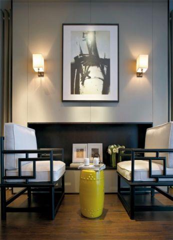 客厅中式风格装饰效果图