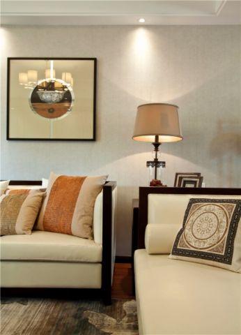 客厅新中式风格装潢图片