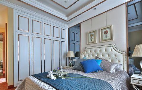 简约美式三室两厅装修效果图