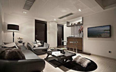 客厅吧台现代风格效果图