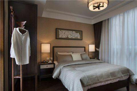 卧室新中式风格装潢效果图