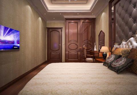 卧室衣柜简欧风格装修设计图片