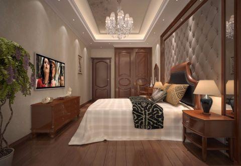 卧室电视柜简欧风格装饰设计图片