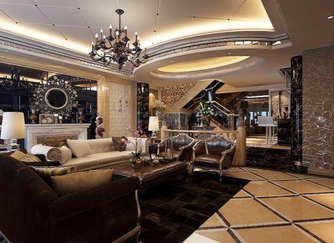 客厅欧式风格装饰设计图片