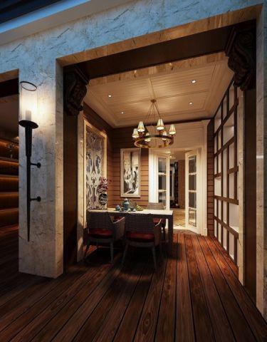 餐厅欧式风格装潢设计图片