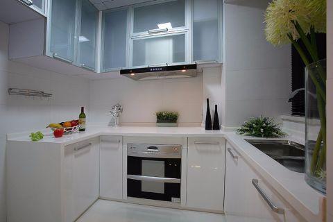 厨房现代简约风格装修设计图片