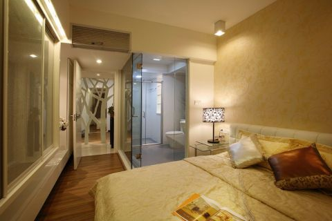 卧室现代简约风格装修效果图