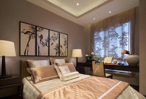 卧室窗帘新中式风格装饰效果图
