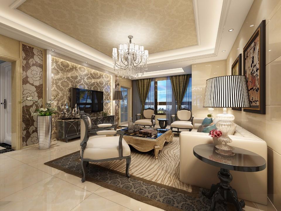 4室2卫2厅126平米现代简约风格
