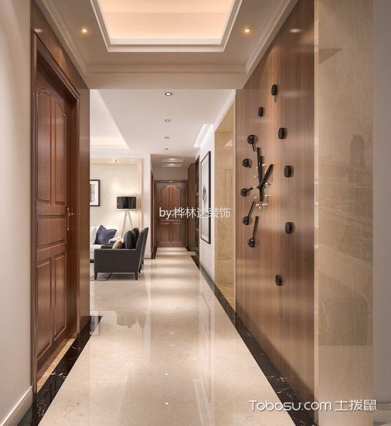 玄关白色走廊新中式风格装修效果图