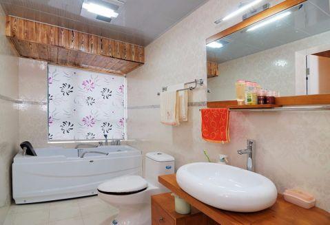 卫生间浴缸现代风格装饰设计图片