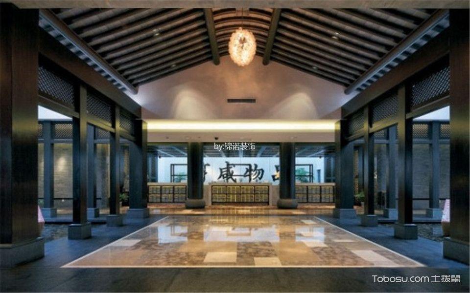 新古典酒店过道装潢实景图片