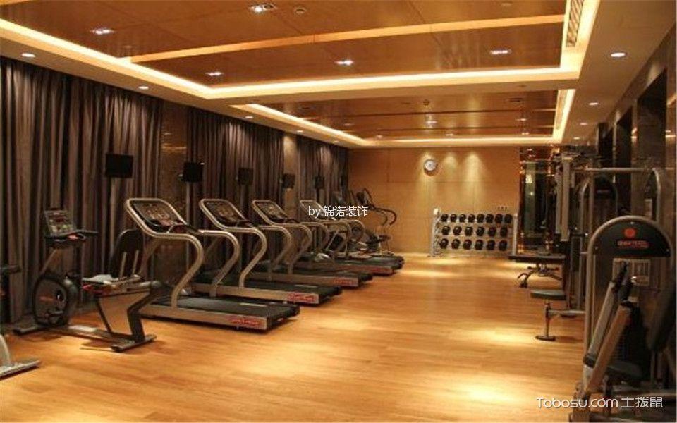 新古典酒店健身房装潢实景图片