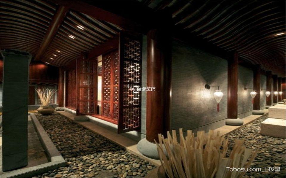 新古典酒店过道走廊装潢图片