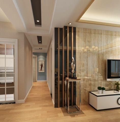 玄关背景墙现代风格装饰效果图