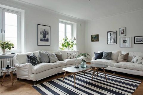客厅照片墙新古典风格装饰图片