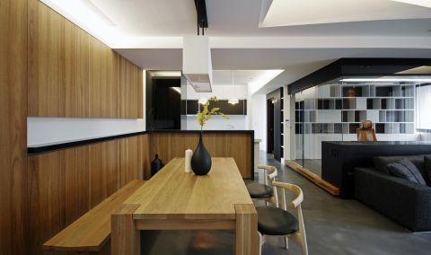 餐厅吊顶北欧风格装潢效果图