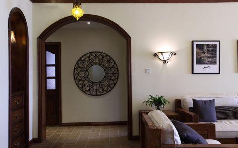 客厅混搭风格装潢图片