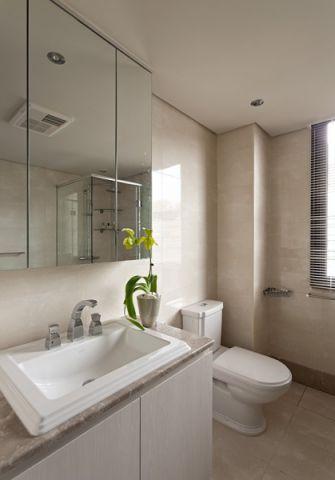 卫生间窗台北欧风格装饰效果图