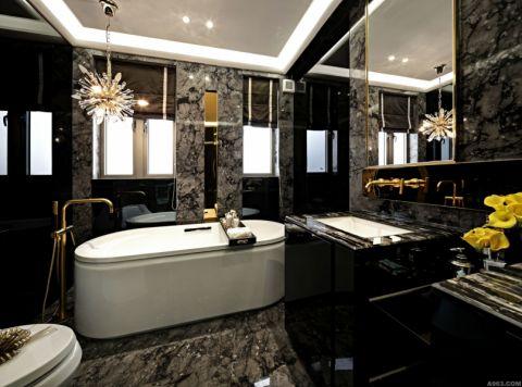 卫生间飘窗后现代风格装修设计图片